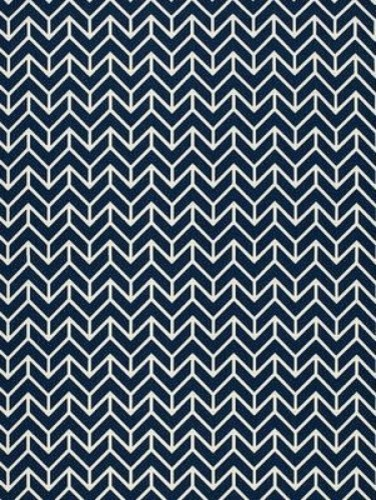 Chevron Print Fabric - Transitional - Fabric - by Covered ...