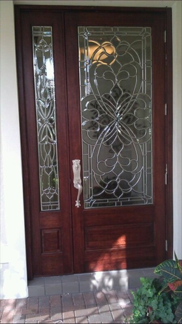 Entry Doors Beveled Glass Entry Doors