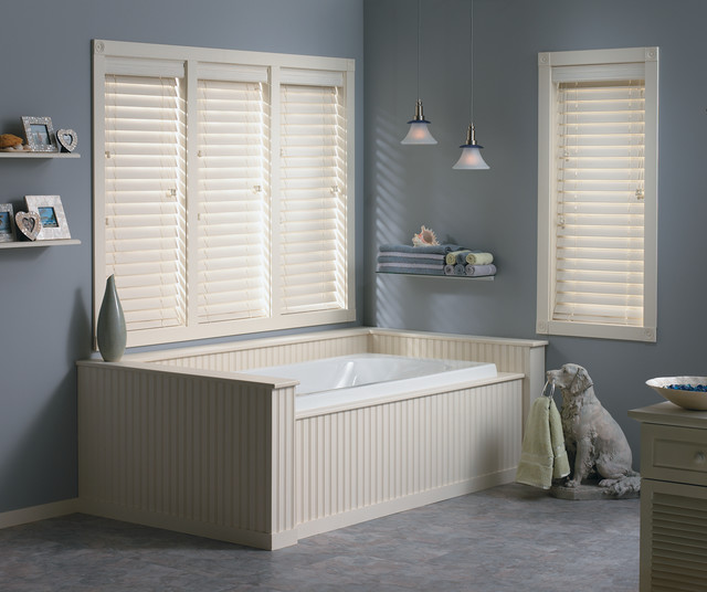 "Bali® Wood Images 2 1/2"" Faux Wood Blinds beach-style-venetian-blinds"