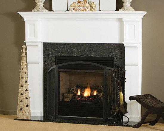 Carrington Wood Fireplace Mantel -