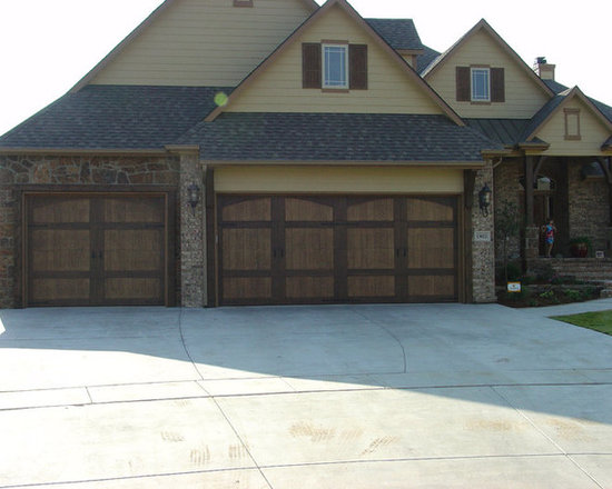 Overhead Door Company: Residential Doors 316-265-4634 - Choose from existing patterns in steel or composite or create your own design and we will build your dream doors! Everyone dreams of garage doors, right?
