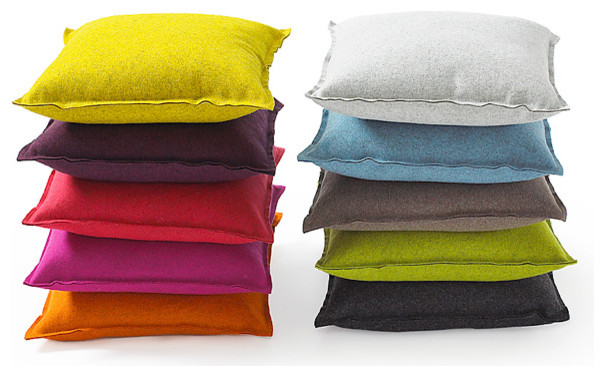 Wool Punch PIllow modern pillows