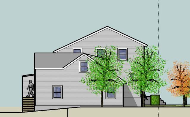 Kociubes Residence Garage Addition traditional-exterior-elevation