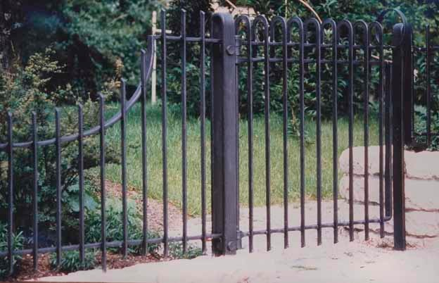 Gate & Railing contemporary-home-fencing-and-gates