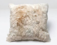 Lily Natural White Pillow - Clayton Gray Home  artwork
