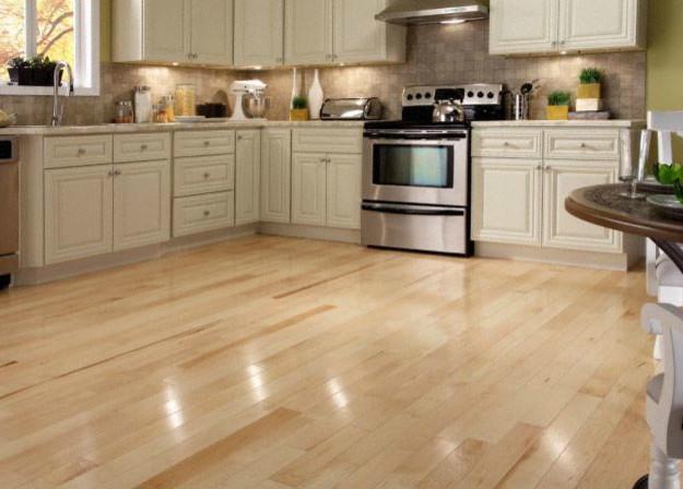 Bellawood Natural Maple Hardwood Flooring By Lumber