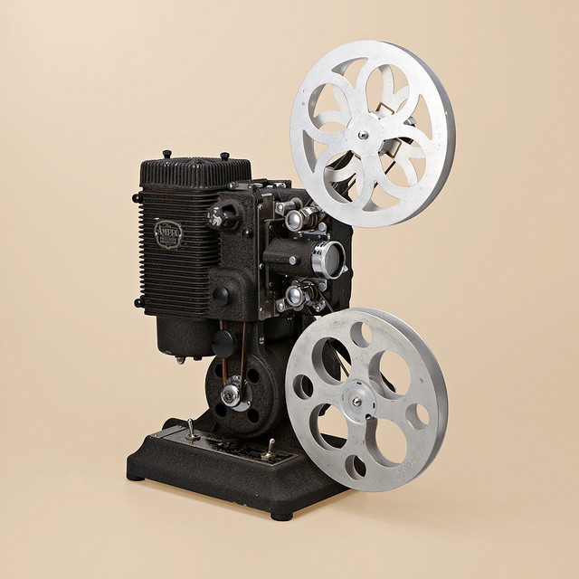 Vintage Movie Projector traditional-home-electronics