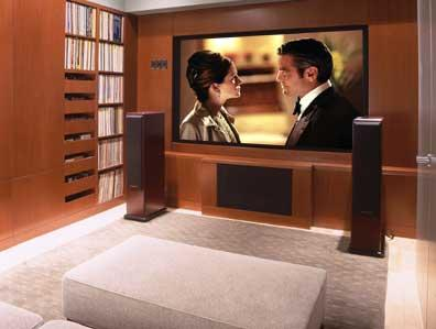 Donald Billinkoff Architects contemporary-home-theater