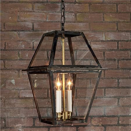 Richmond Outdoor Hanging Lantern - traditional - pendant lighting ...