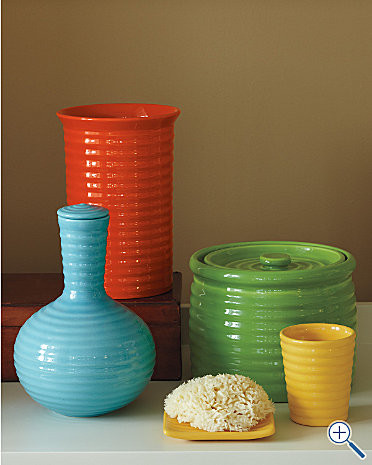 Bauer Pottery - Garnet Hill modern vases
