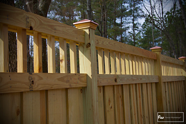 The St. George Wood Privacy Fence fencing
