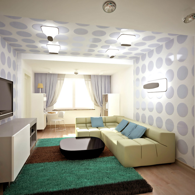 Queen's contemporary-living-room