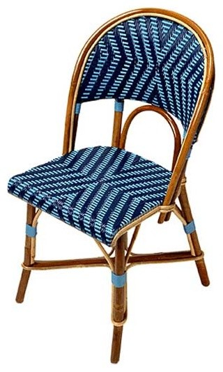 Authentic French Cafe Chairs mediterranean-living-room-chairs