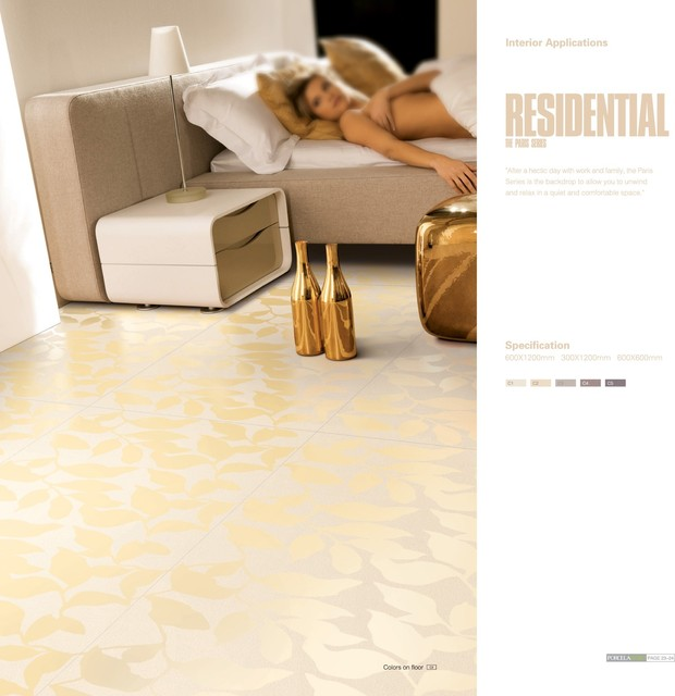 Large Format 4.8mm Thin Porcelain Tiles modern-wall-and-floor-tile