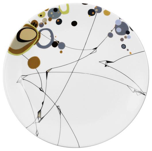 Ink Dish - Kites Side Plate modern-plates