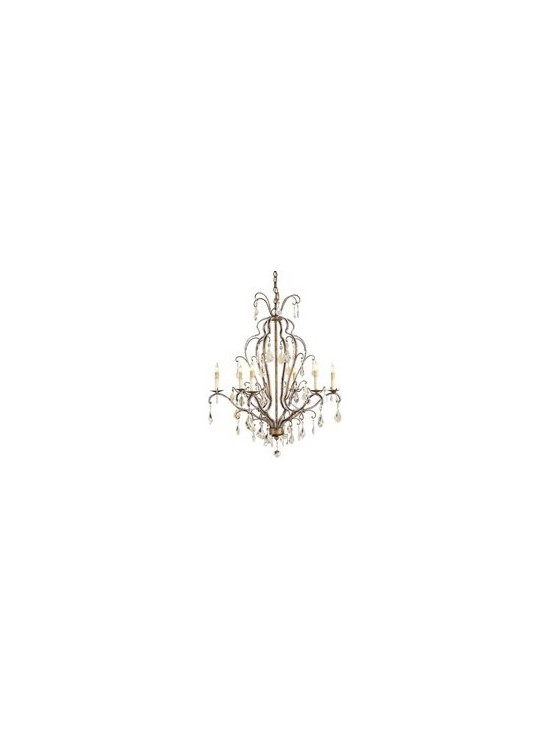 Currey and Company Vienna Transitional Chandelier - CNC-9826 - Currey and Company Vienna Transitional Chandelier - CNC-9826