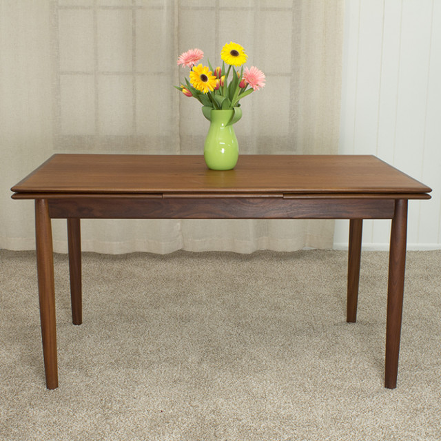 Expandable Dining Room Tables Modern: Danish Modern Expandable Dining Room Table