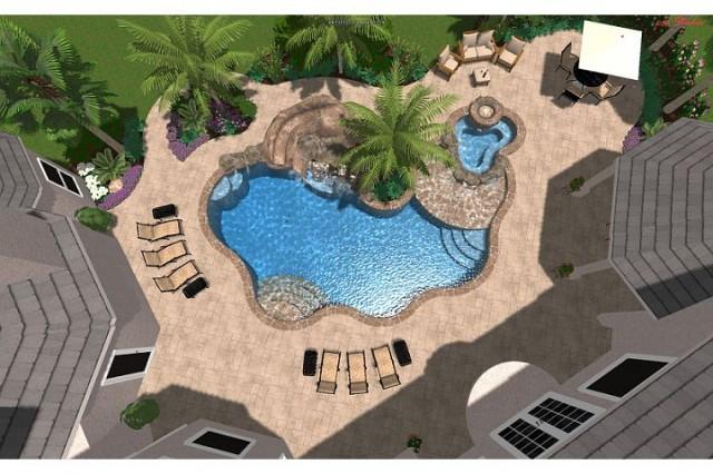 Roman Residence tropical-rendering