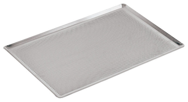 20 7/8 in. by 12 3/4 in. Perforated Aluminum Baking Sheet traditional-cookie-sheets