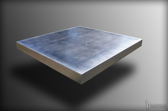 Cast Pewter Table Top - Contemporary - Tabletop - other ...   Cast Tabletop