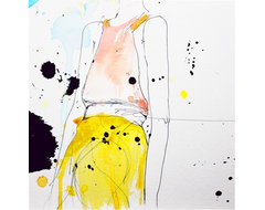 Figure Art Print by Leigh Viner contemporary-artwork