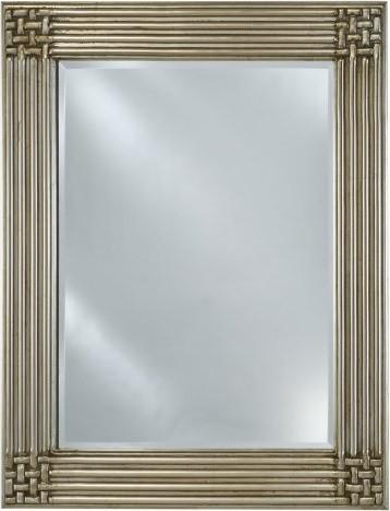 Estate Collection Woven Corners Mirror contemporary-bathroom-mirrors