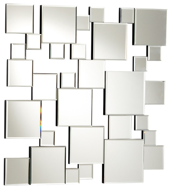 Carmel decor decorative mirrors contemporary wall - Wall mirror modern design ...