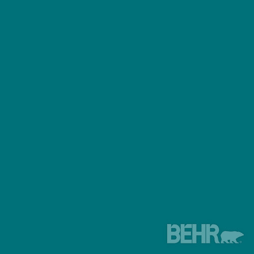 Behr Marquee Paint Color Teal Motif Mq6 35 Modern Paint By Behr 174