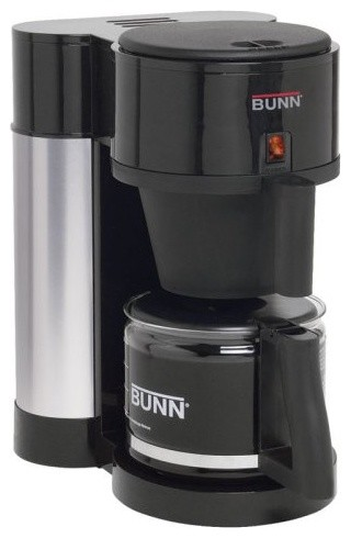 The Bunn NHBX-B Coffee Maker features an elegant contemporary design that will c contemporary-coffee-and-tea-makers