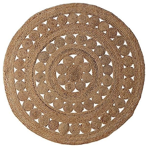 Round Jute Rug Contemporary Rugs By Serena Amp Lily