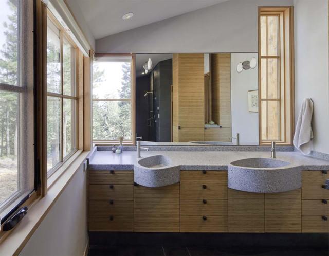 Concreteworks Sinks modern-bathroom-sinks