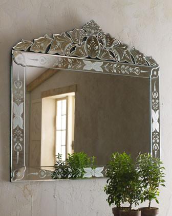 """Portinari"" Venetian-Style Mirror traditional"