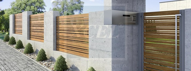 Arete Horizon - Contemporary - Home Fencing And Gates - other metro - by XCEL