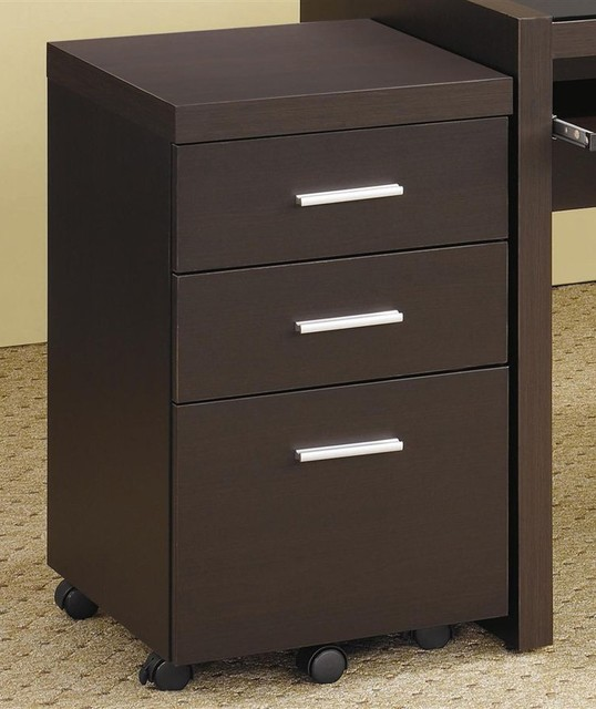 Papineau File Cabinet w 3 Drawers - Contemporary - Filing Cabinets And Carts - by ivgStores