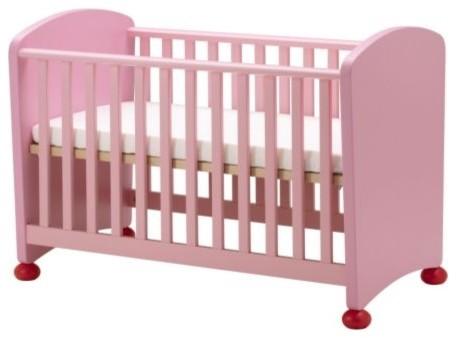 Mammut Crib Pink Scandinavian Cribs By Ikea