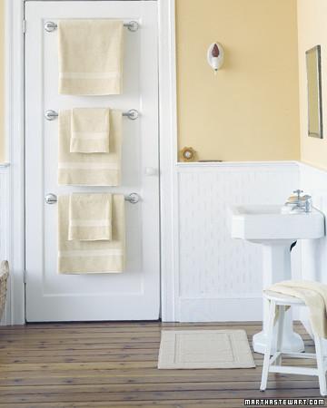 Bathroom Organizers Towel Bar Trio traditional-towel-bars-and-hooks