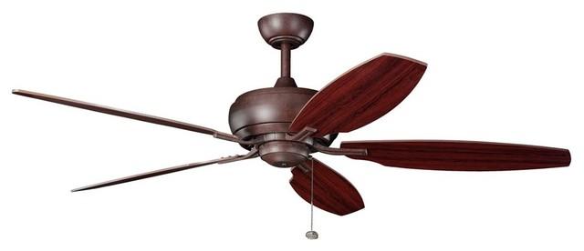 "BUILDER FANS Whitmore 60"" Transitional Ceiling Fan X-ZT501003 contemporary-ceiling-fans"