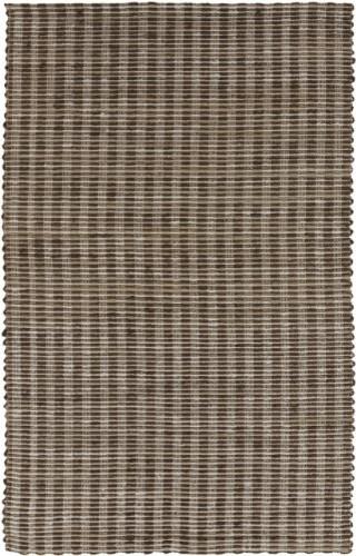 Reeds Natural Fibers Hand Woven 100% Jute Dark Brown Rug REED-816 rugs