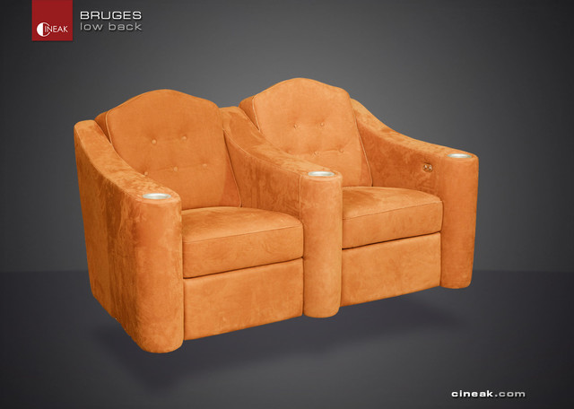 CINEAK Bruges Luxury Home Theater Seats traditional
