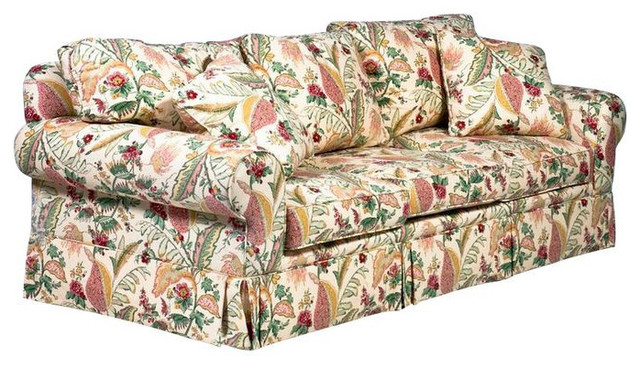 SOLD OUT Designer Yellow Floral Sofa 3850 Est Retail  : contemporary sofas from www.houzz.com size 640 x 368 jpeg 112kB