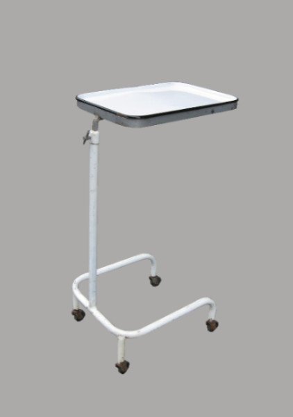 1920s MEDICAL TRAY ON STAND - Side Tables And End Tables - new york - by Beekman Lane