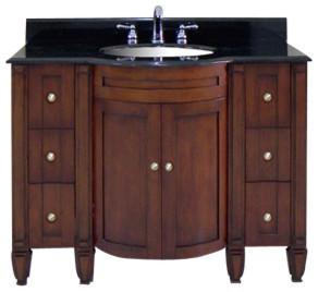 Astor Art Deco Single Vanity