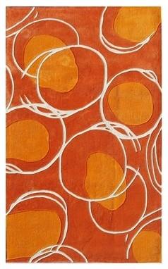 Ecconox Lysander Orange contemporary-rugs