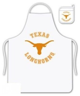 The University Of Texas Longhorns Tailgate Apron and Mitt Set aprons