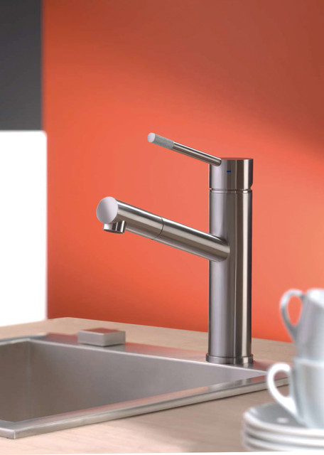 Stonehenge kitchen faucet from Webert contemporary-kitchen-faucets