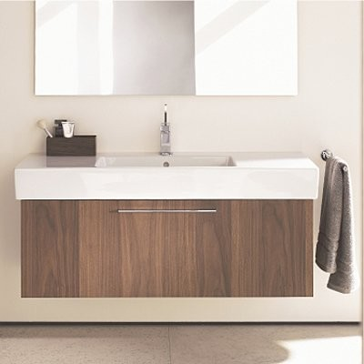 Console Bathroom Sinks : Duravit Fogo Unit Bathroom Vanity - modern - bathroom vanities and ...