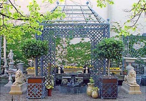 Branch Lattice Gloriette traditional-gazebos