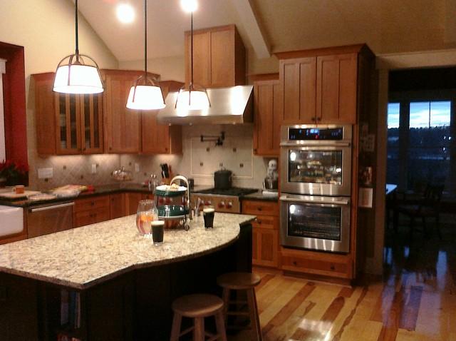 Werth Home - Clemson SC traditional-kitchen-countertops