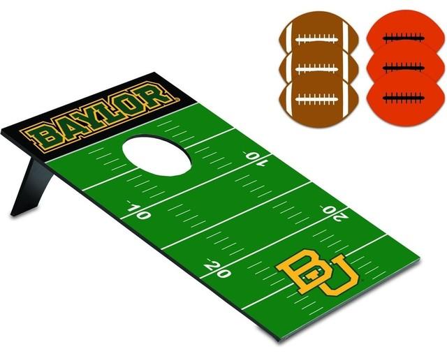 Baylor University Bean Bag Throw-Football modern-board-games-and-card-games