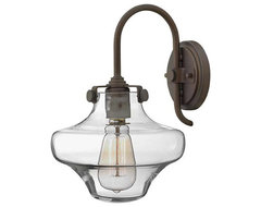 Hinkley Lighting 3171OZ Congress Oil Rubbed Bronze Wall Sconce farmhouse-wall-sconces
